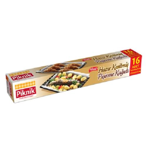 Piknik Baking Paper Pre-cut 16 pcs