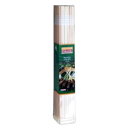 Piknik Bamboo Barbecue Skewers 100 pcs
