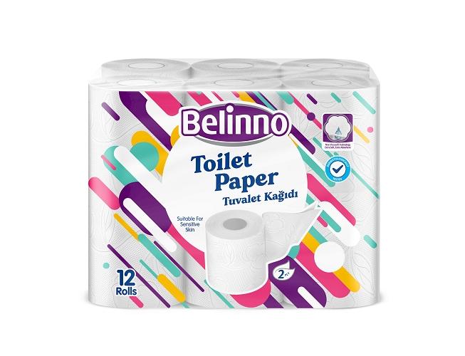 Belinno Toilet Paper 12 Rolls