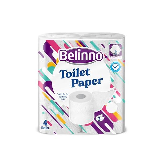 Belinno Toilet Paper 4 Rolls