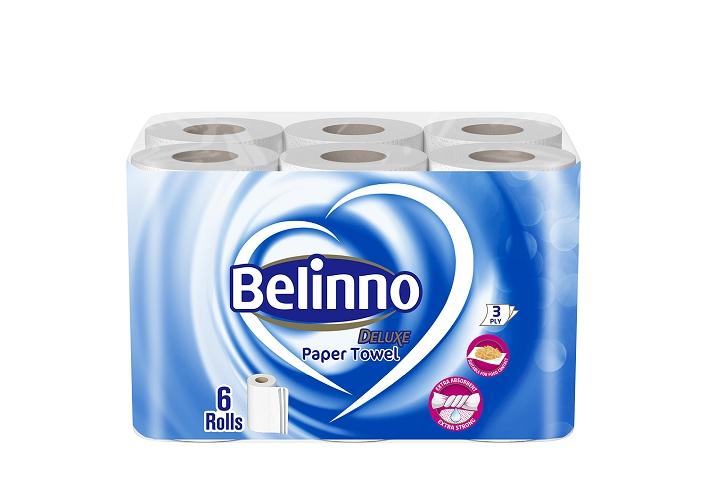 Belinno Deluxe Kitchen Towel 6 Rolls