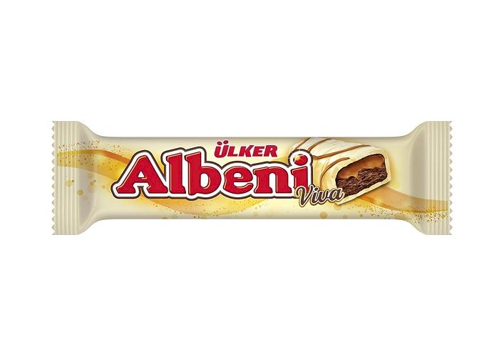 Ulker Albeni Viva White Chocolates 36 gr