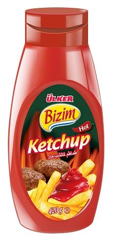 Ulker Bizim Hot Ketchup 420 gr