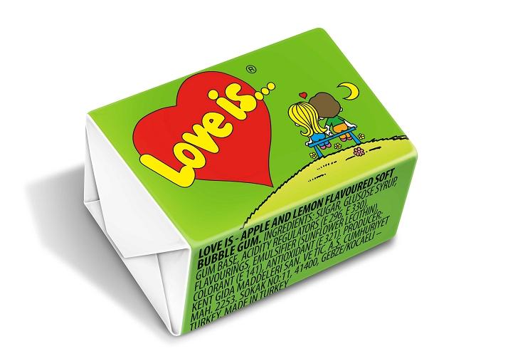 Kent Love is Apple & Lemon Chewing Gum 4.2 gr (per unit)