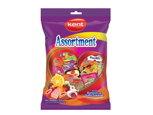 Kent Miss Assorted Toffee and Hard Candies 375 gr