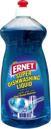 Ernet Super Dishwashing Liquid Fresh Blue 750 ml