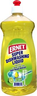 Ernet Super Dishwashing Liquid Citrus Yellow 750 ml